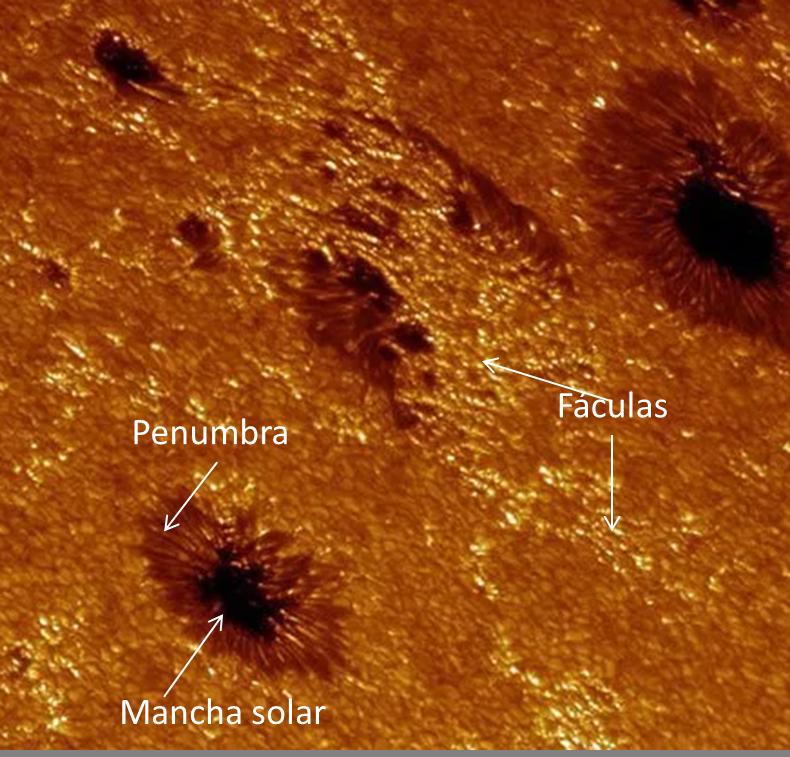 enigmas del universo: manchas solares